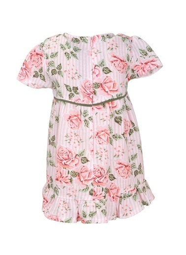 Zeyland Gül Roses Elbise (9ay-4yaş) Gül Roses Elbise (9ay-4yaş) Renkli